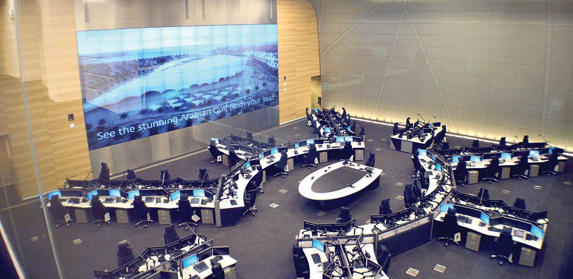 Ndia Terminal Amp Qatar Airways Operation Centers Butec